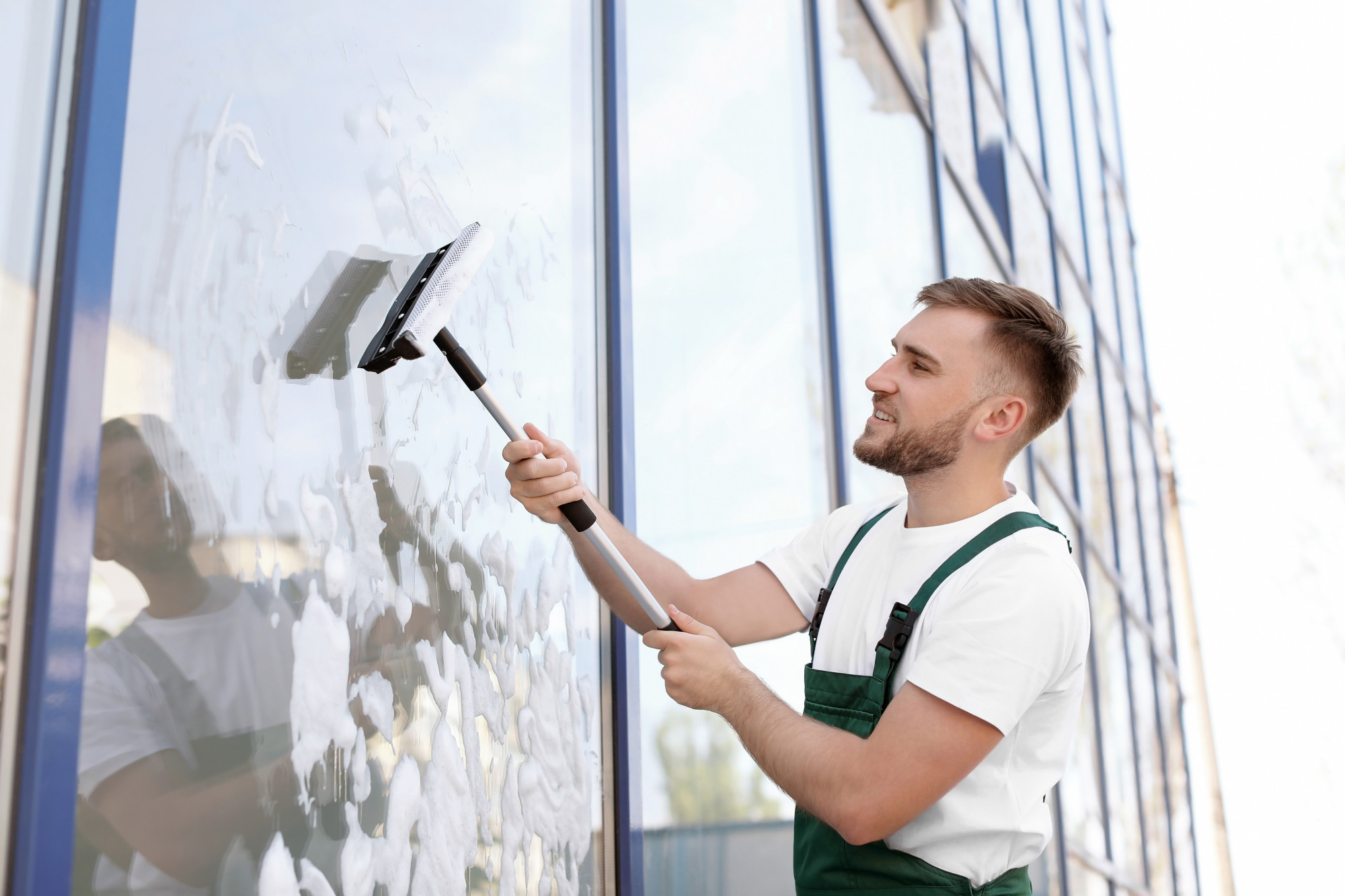 start a window washing business